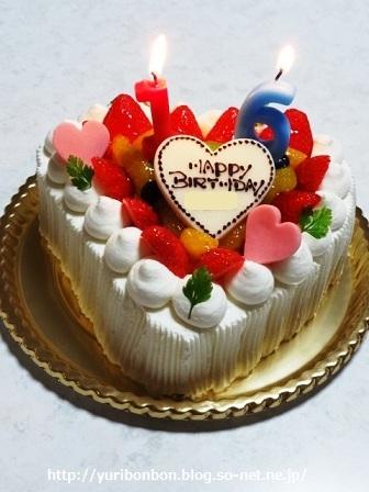 バースデーケーキ 16歳(2012 6 12).jpg